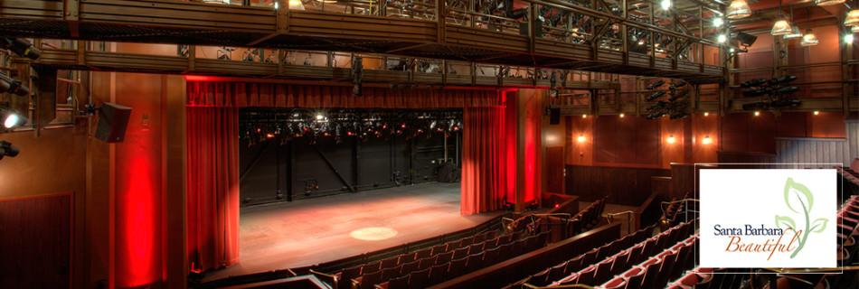 The New Vic Theatre, Santa Barbara Beautiful Historic Revitalization